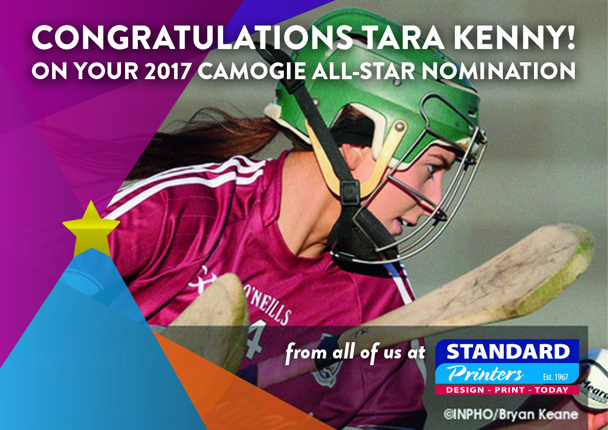 Our very own GAA Camogie All-Star 2017 nominee