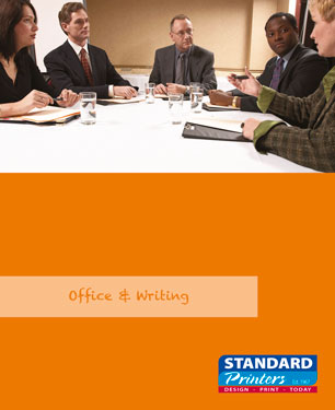 office and writing merchandise catalogue