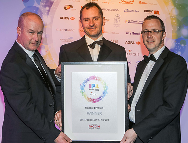 standard printers win irish print award