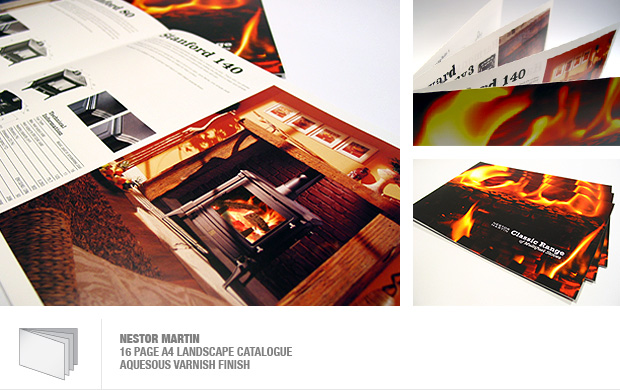 design and print of a catalogue