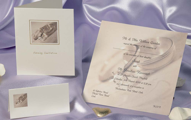 wedding stationery print and design