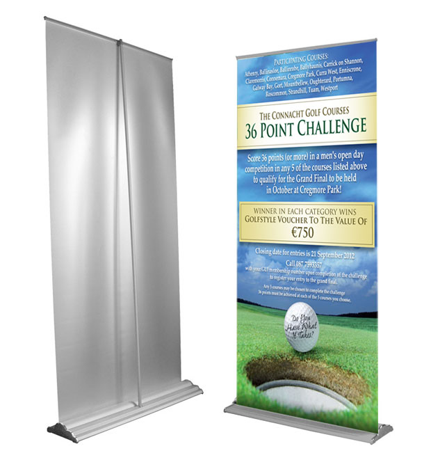 printed roll-up banners